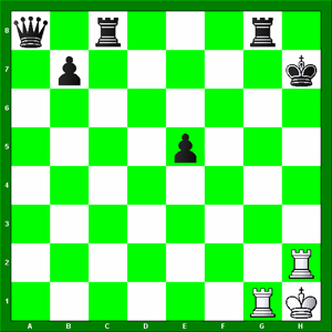 The Black King is Checkmated